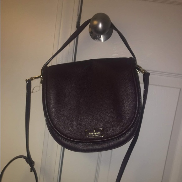 Handbags - Deep purple/plum Kate spade satchel